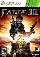 Fable III xbox360  REPLACEMENT CASE ONLY (NO GAME) with/booklet