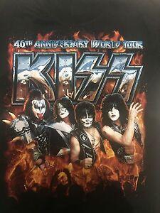 KISS - 40th Anniversary T Shirt