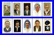 SOMERSET - CIGARETTE CARD HEROES -  POSTCARD SET # 1