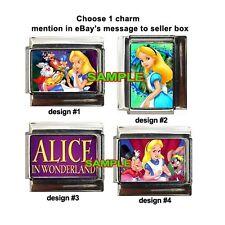 Alice in Wonderland Disney Custom Italian Charm cute!