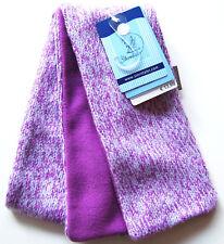 Strick Fleece Schal 90cm Sterntaler NEU lila violet meliert kinder winter