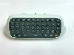 Microsoft Xbox 360 Chatpad Keyboard Controller Attachment Text Keypad JAPAN