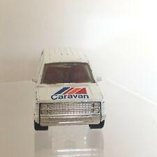 1984 MATCHBOX Dodge Caravan 1:60 White Van Sliding Side Door Made in Macau