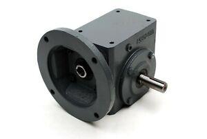 Lexar Industrial BT154 Cast Iron 56C 50:1 Worm Gear Speed Reducer SHAFT RIGHT