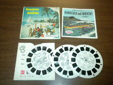 HONOLULU AND WAIKIKI OAHU HAWAII (A123) Viewmaster 3 reels PACKET SET
