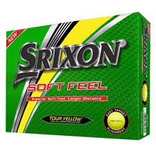 Srixon Soft Feel Golf Balls - Yellow - 1 dozen