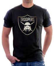 Star Wars Inspiré Stormtrooper Empire Jedi Bouclier imprimé T-shirt en coton 9768