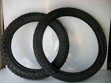 New Honda XL125 Front & Rear Road legal Tyres 2.75-21 & 4.10 18 XL 125 XL185