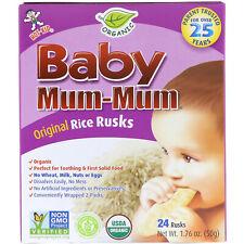 Baby Mum-Mum, Organic Rice Rusks, 24 Rusks, 1.76 oz (50 g)