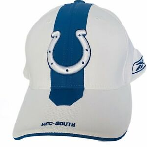 Indianapolis Colts Peyton Manning hat cap NFL football vtg Reebok sideline Luck