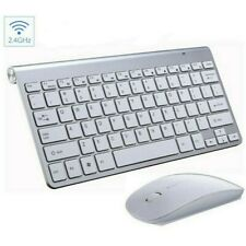 Slim Bluetooth Wireless Keyboard for iPad Mackbook iMac Windows PC Laptop Tablet