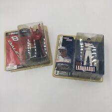 Dale Earnhardt Sr And Dale Jr! set of two Action McFarlane figures. NIB Vintage!