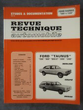 REVUE TECHNIQUE FORD TAUNUS BERLINE COUPE BREAK 1300-1600 & GT-2000-2300