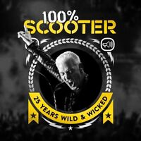 SCOOTER - 100% SCOOTER-25 YEARS WILD & WICKED (3CD-DIGIPAK)  3 CD NEU