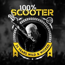 SCOOTER - 100% SCOOTER-25 YEARS WILD & WICKED (3CD-DIGIPAK)  3 CD NEUF