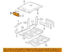 GM OEM Interior-Sunvisor Sun Visor Right 15798459