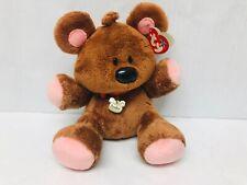 Pooky Bear Beanie Buddies Plush Stuffed Animal 2004 TY with Tags & Collar