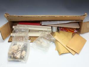 Vintage 1967 Dated ESTES Multiple Model Rocket Kit Lot in Original Mailer Box
