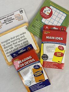 EduPress Carson Dellosa Reading Card Bundle Lot of 4, NEW