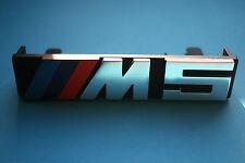 Genuine BMW M5 E34 Front grille M badge logo emblem 51142230389 Buchstabe M5 E34
