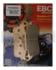 Compatibili con Honda VFR 1200 Fad - DCT 10 15 EBC Sinterizzato pastiglie Set