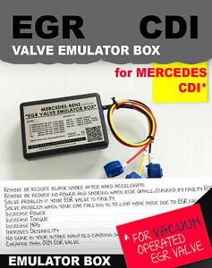 EGR valve BOX Mercedes C / E / S / ML / 220 CDI / 270CDI / 320CDI 300TD