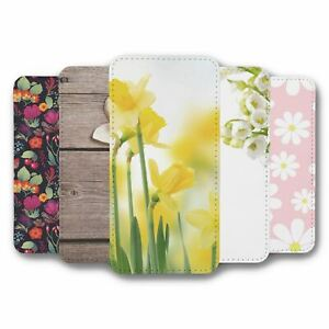 For iPhone 11 PRO MAX Flip Case Cover Flower Collection 15