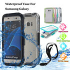 Shockproof Waterproof Dirt Proof Case Full Cover For Samsung Galaxy Note 8 S6/S7