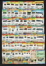 Tuvalu - Trains - Lots of them - see scan