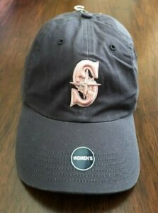 Vintage Seattle Mariners Women's Baseball Hat Cap Official MLB Distressed New