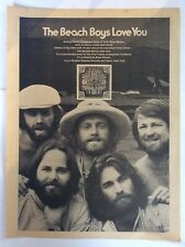 The Beach Boys ~ Love You 1975 vintage magazine ad advertisement poster picture