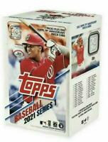 2021 Topps Baseball Series 1 Blaster Box 7 Packs New Sealed MLB