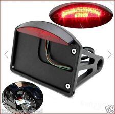 motorcycle,billet,alloy,LED,side,mount,rear,light,chop,trike,license,number,