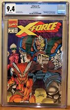 X-FORCE #1 CGC 9.4 - WHITE PAGES