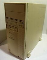 Vintage RETRO Dell Dimension XPS P90C (Intel Pentium 90MHz 640KB NO HDD) Works!
