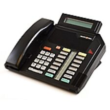 Five Refurbished Black M5316 Phones Nortel Aastra Centrex NT4X42