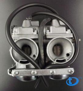 For Honda Rebel CA CMX 250 C CMX250 CA250 Carburettor Dual Carb ASSY Set Chamber