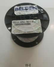 *NEW* BELDIN 8523-018 1000'FT  White/Blue 20 AWG PVC Hook Up Wire Stranded 1000V