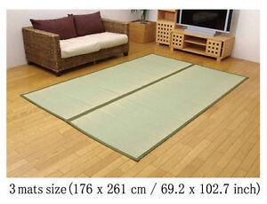 Tatami Floor Mat Japanese natural rush 100% carpet rug Antibacterial Deodorized