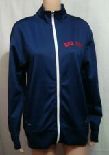 Boston Red Sox Womans Logo Zipper Athletic Jacket by Majestic - Size S