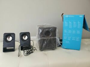 Logitech Multimedia Speakers Z213 (2.1 Stereo Speakers with Subwoofer) 14w