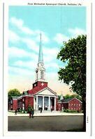 First Methodist Episcopal Church, Indiana, PA Postcard *218