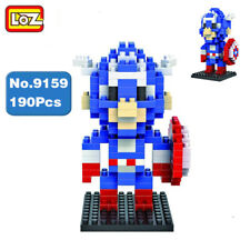 LOZ Marvel Hero Avengers Captain America Mini Building Diamond Nano Blocks Toy