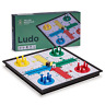 Folding Travel Magnetic Ludo Set 9.75 Inches Classic Board Game for All Ages