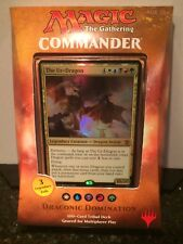 MAGIC THE GATHERING 2017 COMMANDER DRACONIC DOMINATION 100 CARD DECK