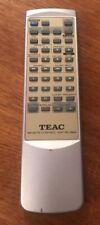 Genuine TEAC Remote Control Unit RC-864 - Silver - GC - FREE UK POST