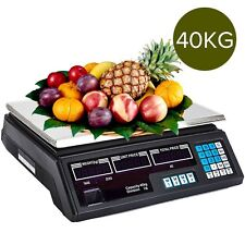 Digital Commercial Kitchen Scales Shop Electronic Weight Scale Food 40KG