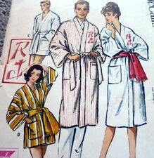 *LOVELY VTG 1950s ROBE Sewing Pattern Size Small