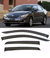 For Toyota Corola 2006-2016 Window Side Visors Sun Rain Guard Vent Deflectors
