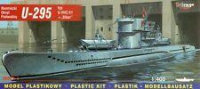 U-boot u 295 type vii C/41 t-ii avec biber (allemand et soviétique MKGS) 1/400 mirage